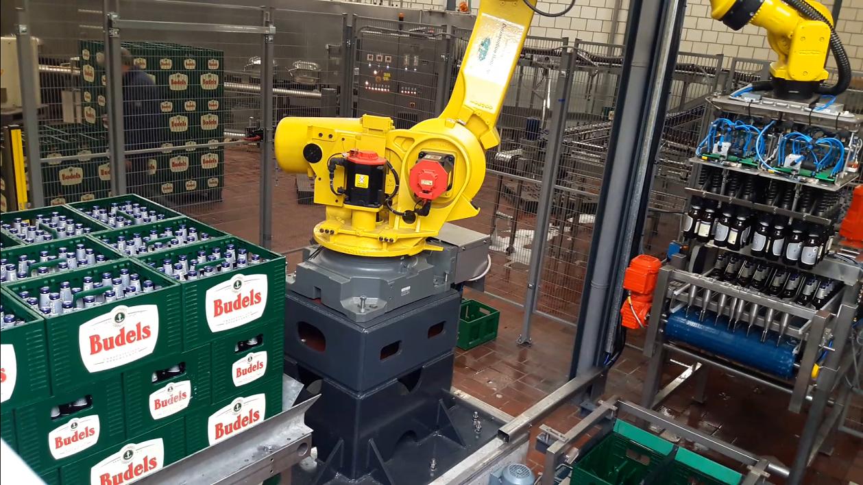 Bierkratten robot
